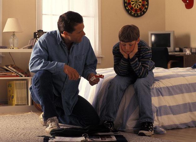 """Chłopcy najczęściej określali takie rozmowy jako """"dziwaczne"""" i uważali je za stratę czasu /© Panthermedia"""