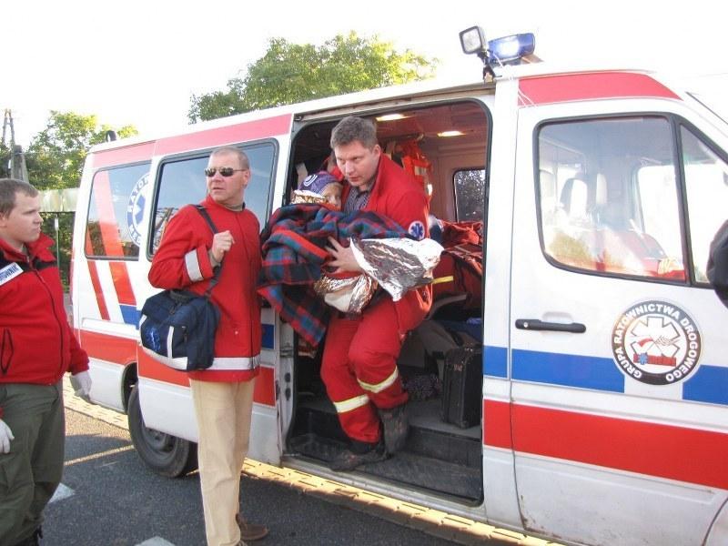 Chłopiec jest pod opieką lekarzy w szpitalu w Ostrowcu Świętokrzyskim /Krzysztof Kot /RMF FM
