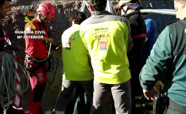 Chłopiec wpadł do 100-metrowego szybu wiertniczego w Hiszpanii