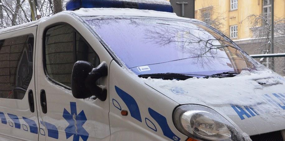 Chłopiec został przewieziony karetką do szpitala w Bielsku-Białej /Malwina Zaborowska /RMF FM