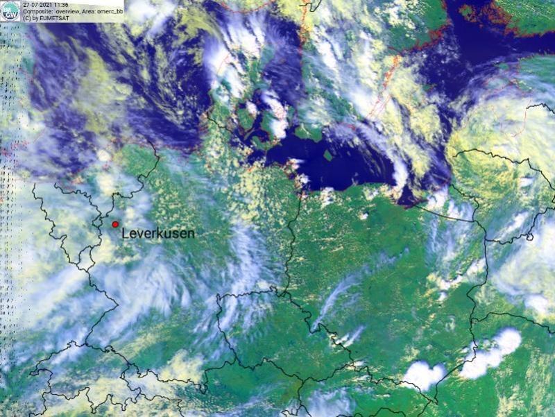 Chmura może dotrzeć do Szczecina /IMGW /materiały prasowe