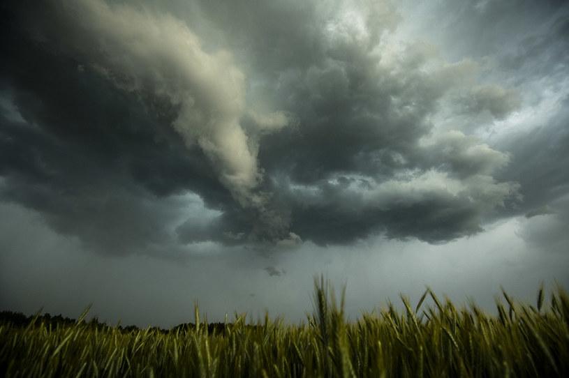 Chmury burzowe, zdjęcie iustracyjne / Agencja Wschod / /Agencja FORUM