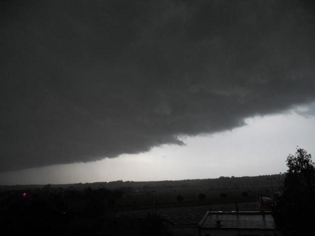 Chmury nad Dąbrową Górczniczą /Gorąca Linia /RMF FM