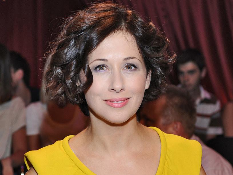 Choć pani Jolanta jest mamą wymagającą, była dumna, że córka ma wiele talentów  /Andras Szilagyi /MWMedia
