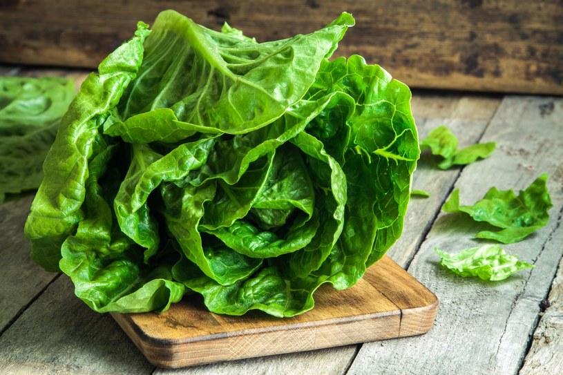 Chociaż sałata składa się głównie z wody, posiada wiele składników odżywczych /123RF/PICSEL
