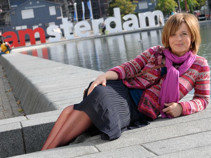 Chodaki, tulipany i trawka. Bożence Amsterdam przypadł do gustu. /Agencja W. Impact