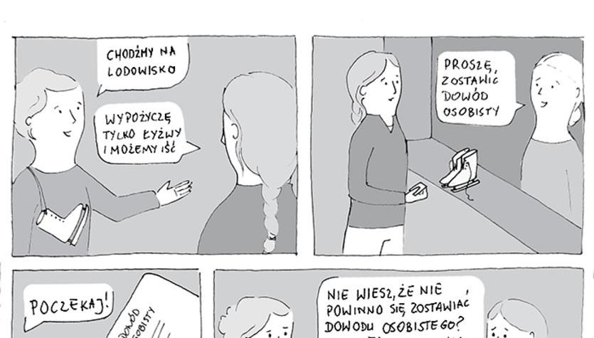 Chodźmy na lodowisko (komiks)