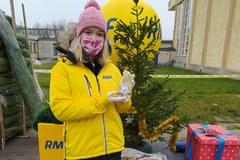 Choinka dla medyków od RMF FM w Łodzi
