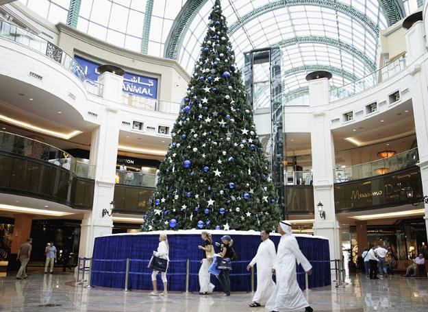 Choinka w centrum handlowym, Dubaj /Chris Jackson /Getty Images