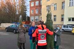 Choinki dla medyków od RMF FM na Dolnym Śląsku