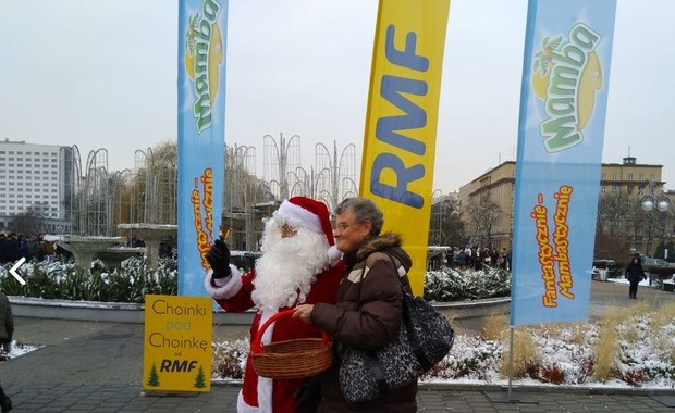 Choinki pod choinkę od RMF FM trafiły do mieszkańców Olsztyna!