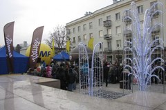 Choinki pod Choinkę od RMF FM w Kielcach