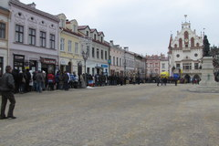Choinkowy konwój RMF FM w Rzeszowie