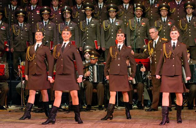 Chór Aleksandrowa nie wykonał w Krakowie pieśni o zajęciu Krymu przez Rosjan /Eugeniusz Helbert /Agencja FORUM