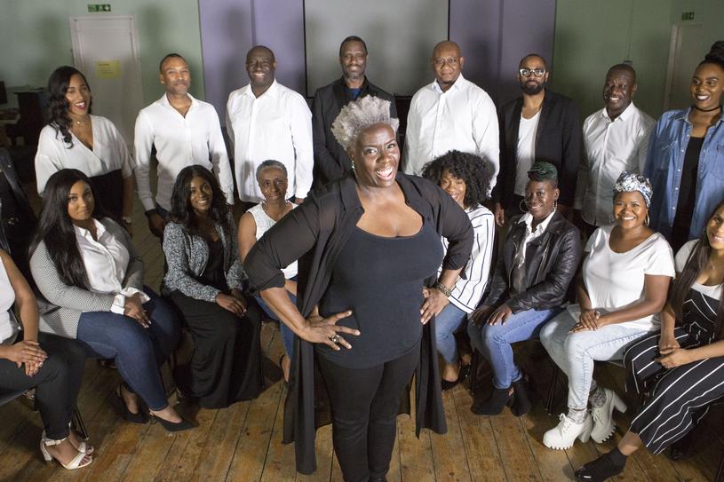 Chór królewski The Kingdom Choir pod dowództwem Karen Gibson /WPA Pool /Getty Images