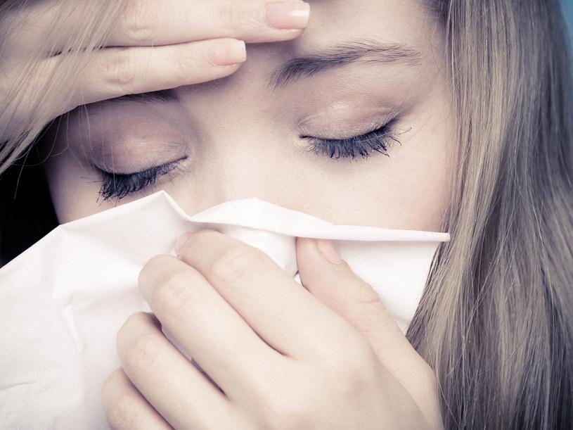 Chora kobieta; zdj. ilustracyjne /123RF/PICSEL