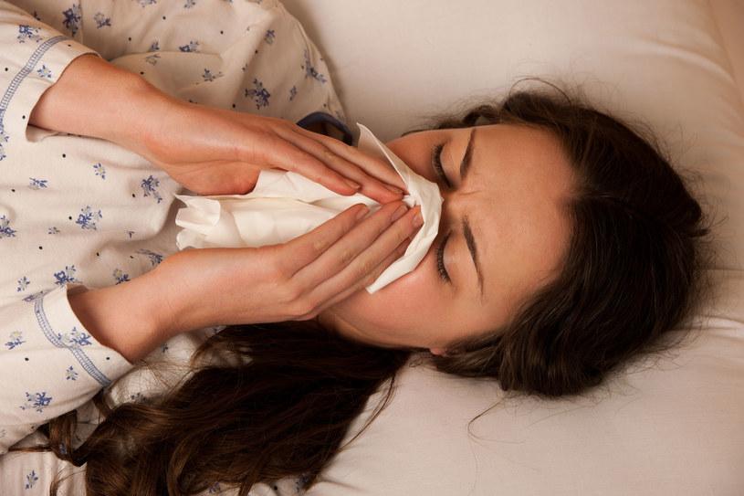 Chora na grypę; zdj. ilustracyjne /123RF/PICSEL