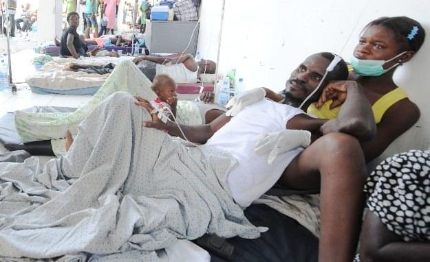 Choroba pustoszy przede wszystkim północne tereny Haiti /AFP