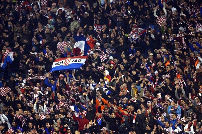 Chorwaccy kibice śpiewali obraźliwe piosenki pod adresem Serbów /AFP