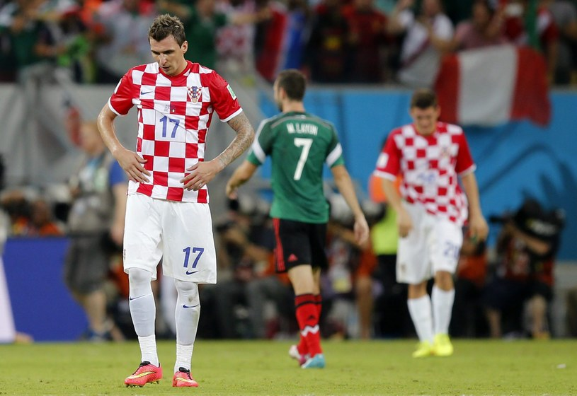 Chorwaci pożegnali się z mundialem przegranym meczem z Meksykiem /PAP/EPA