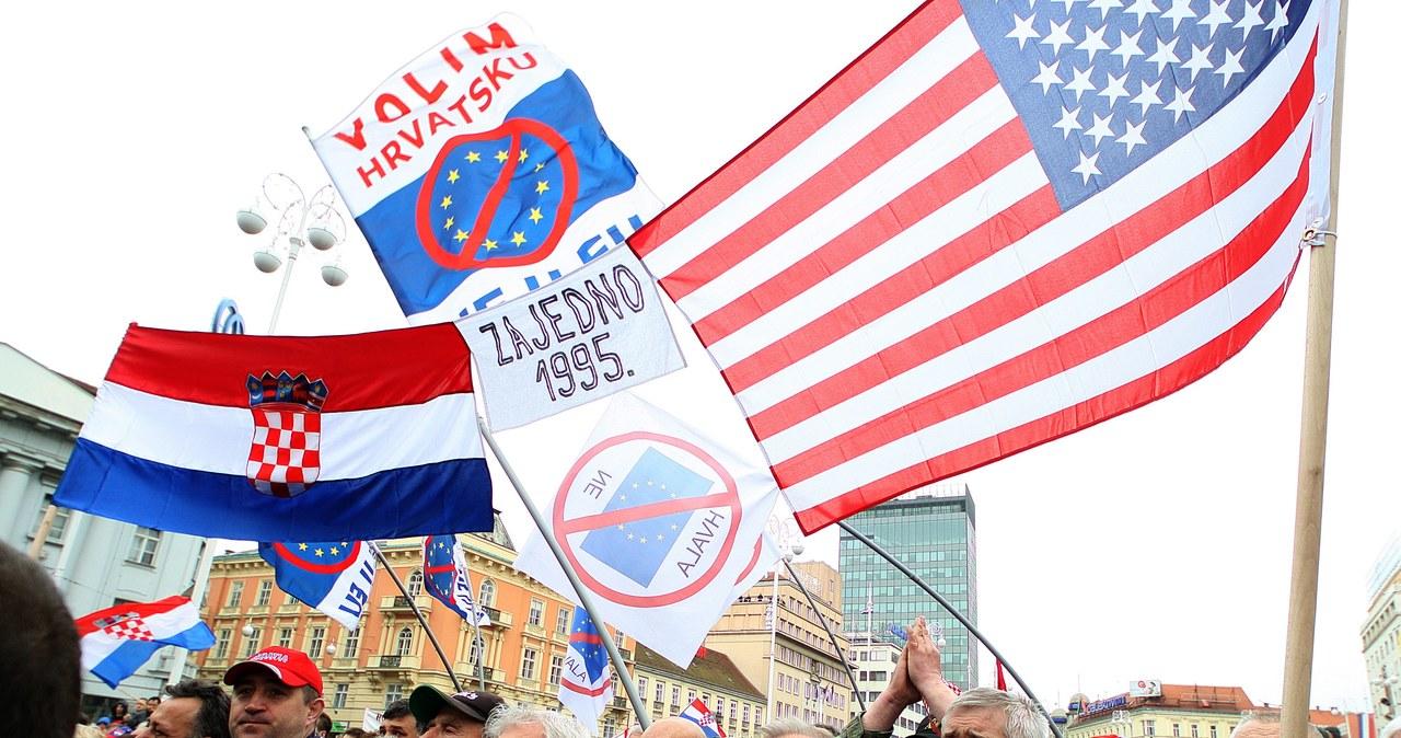 Chorwaci protestowali przeciwko skazaniu Gotoviny i Markacza