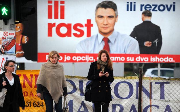 Chorwaci wybierają dziś parlament /AFP