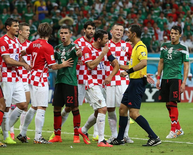 Chorwacja po porażce z Meksykiem pożegnała się z mundialem /PAP/EPA