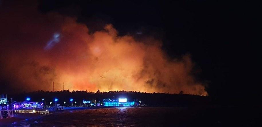 Chorwacja: Pożar na wyspie Pag. Ewakuowano 10 tys. osób /Karolina Górny /Gorąca Linia RMF FM