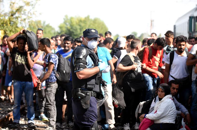 Chorwacja twierdzi, że nie jest już w stanie przyjąć więcej migrantów /AFP