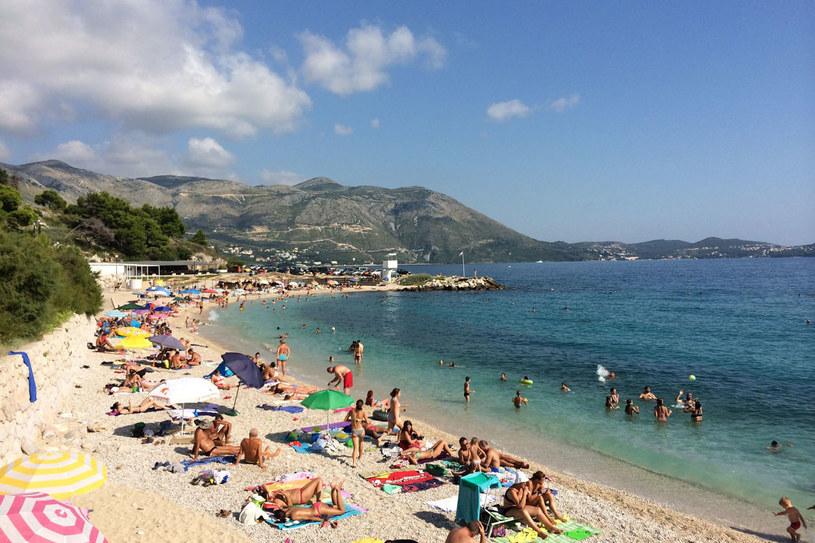 Chorwackie plaże przyciągają turystów. /123RF/PICSEL