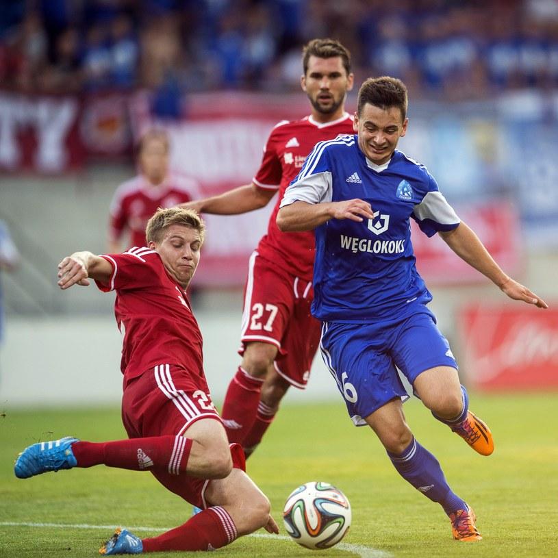 Chorzowianie wygrali dwumeczu z teoretycznie słabszą drużyną z Liechtensteinu /PAP/EPA