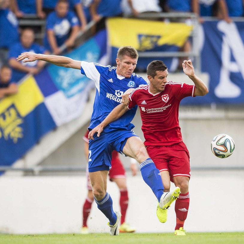 Chorzowianie zatrzymali na wyjeździe FC Vaduz i awansowali do kolejnej rundy kwalifikacji /PAP/EPA