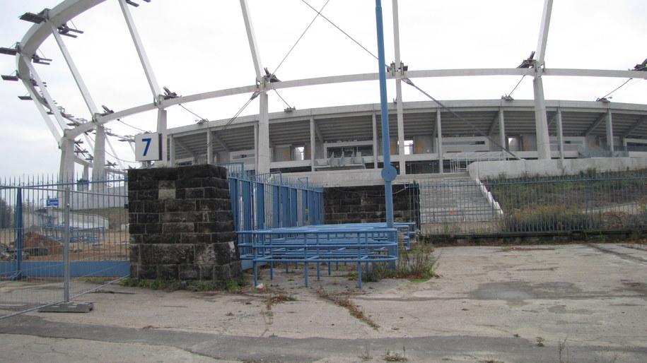 Chorzowski stadion wciąż jest remontowany /Anna Kropaczek /RMF FM