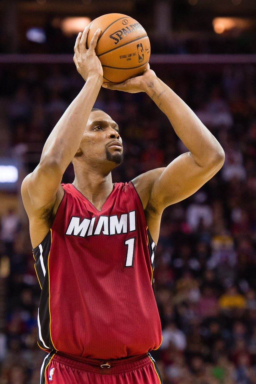 Chris Bosh, gwiazda NBA /AFP