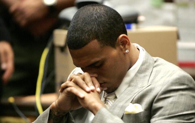 Chris Brown  /Splashnews