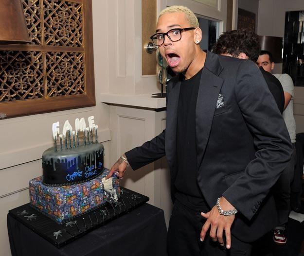 Chris Brown denerwuje się, gdy ktoś go pyta o Rihannę - fot. Larry Busacca /Getty Images/Flash Press Media