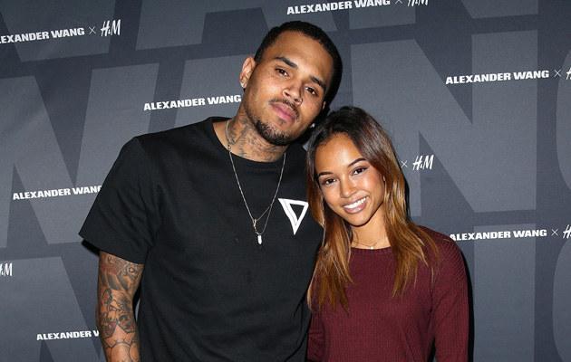 Chris Brown i Karrueche Tran rozstali się! /Imeh Akpadousen /Getty Images