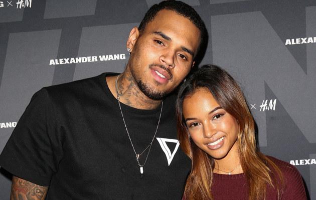 Chris Brown i Karrueche Tran /Imeh Akpadousen /Getty Images