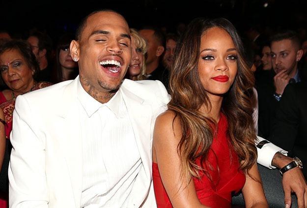 "Chris Brown i Rihanna: ""Ona wciąż mnie kocha"" fot. Christopher Polk /Getty Images/Flash Press Media"