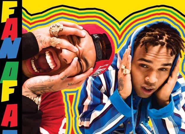 "Chris Brown i Tyga na okładce ""Fan of a Fan: The Album"" /"
