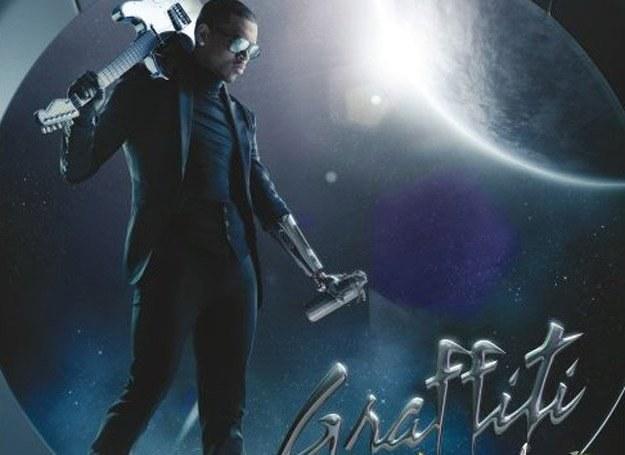 """Chris Brown na okładce płyty """"Graffiti"""" /"""