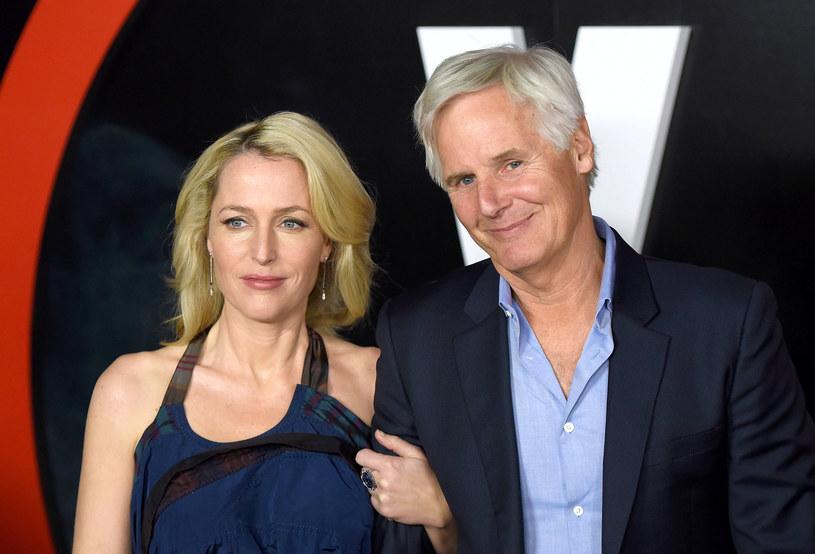 """Chris Carter i Gillian Anderson na premierze nowych odcinków """"Z Archiwum X"""" /Angela Weiss /Getty Images"""