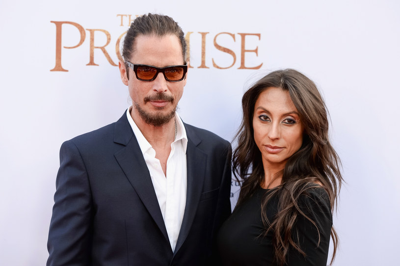 Chris Cornell i Vicky Cornell /Tara Ziemba /Getty Images