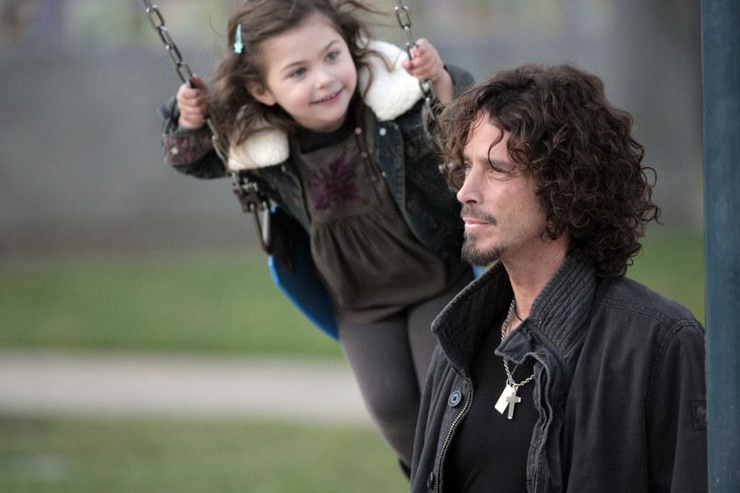 Chris Cornell z córką Toni / COP/BuzzFoto/FilmMagic /Getty Images