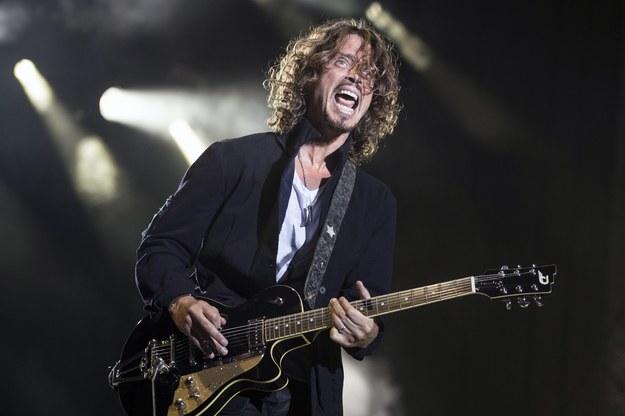 Chris Cornell z Soundgarden. Zespół będzie jedną z gwiazd festiwalu w Oświęcimiu /GIAN EHRENZELLER /PAP/EPA