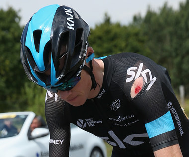 Chris Froome wycofał się z Tour de France