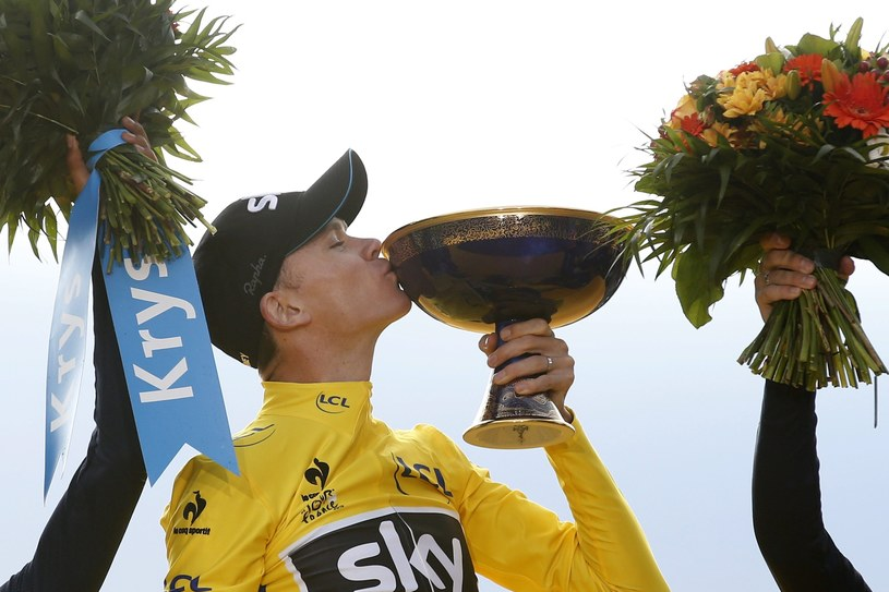 Chris Froome /PAP/EPA