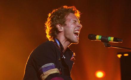 Chris Martin (Coldplay) fot. Dave Hogan /Getty Images/Flash Press Media