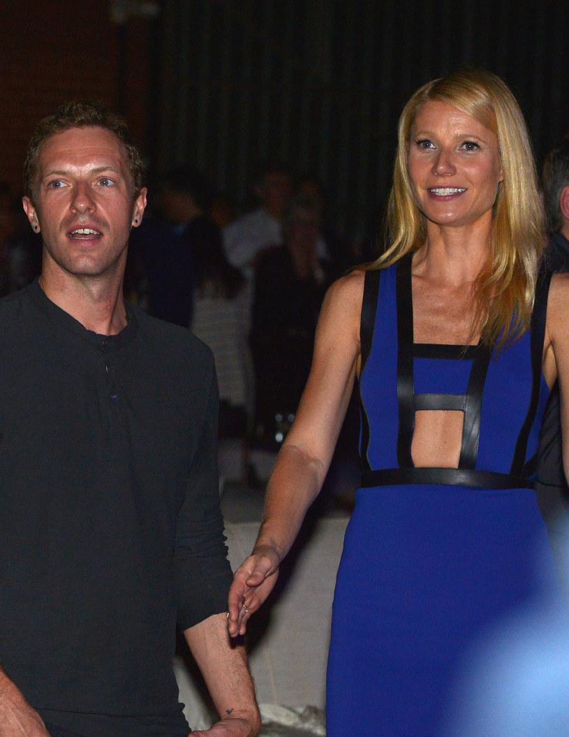 Chris Martin i Gwyneth Paltrow /Charley Gallay /Getty Images