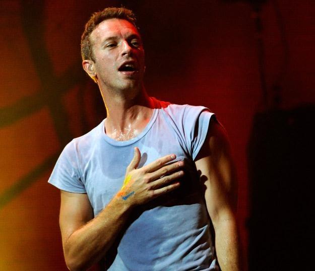 Chris Martin - lider i wokalista Coldlpay, a prywatnie mąż Gwyneth Paltrow - fot. Ethan Miller /Getty Images/Flash Press Media